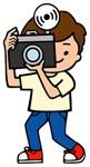 カメラマンイラスト